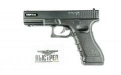 Пневматический пистолет Stalker S17 аналог Glock17 металлический черный 4,5 мм